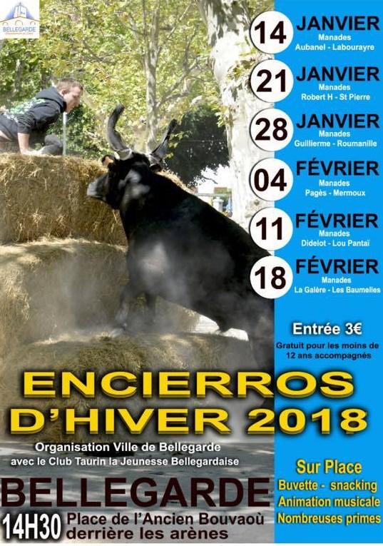ENCIERROS D'HIVER BELLEGARDE 2018 @ Bellegarde