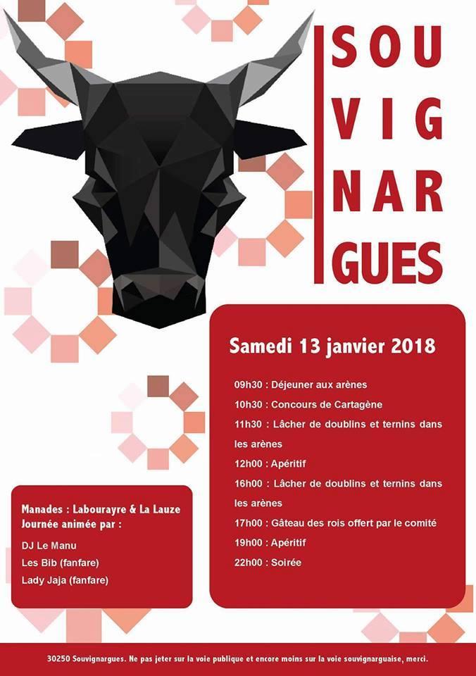 Journée taurine Souvignargues @ Souvignargues