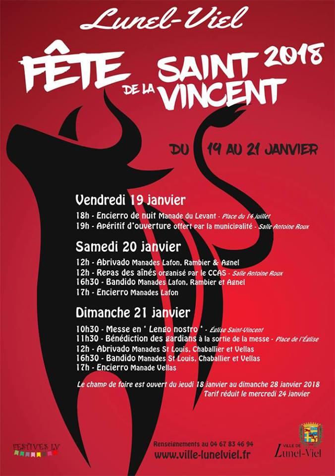 LUNEL VIEL - Fête de la Saint Vincent @ Lunel Viel