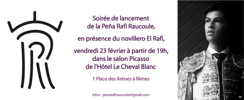 Soirée de lancement de la peña RAFI Raucoule @ Nimes