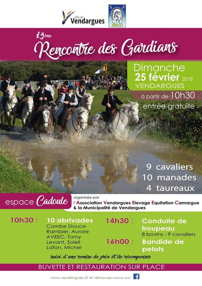 13ème Rencontre des gardians @ Vendargues