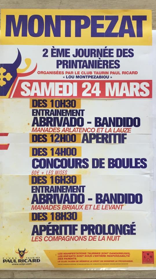 MONTPEZAT - Printanières