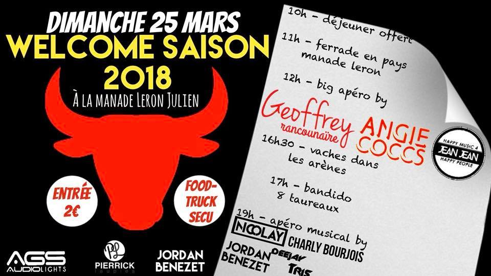 MANADE LERON - Welcome saison 2018