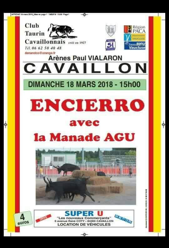 CAVAILLON - Encierro