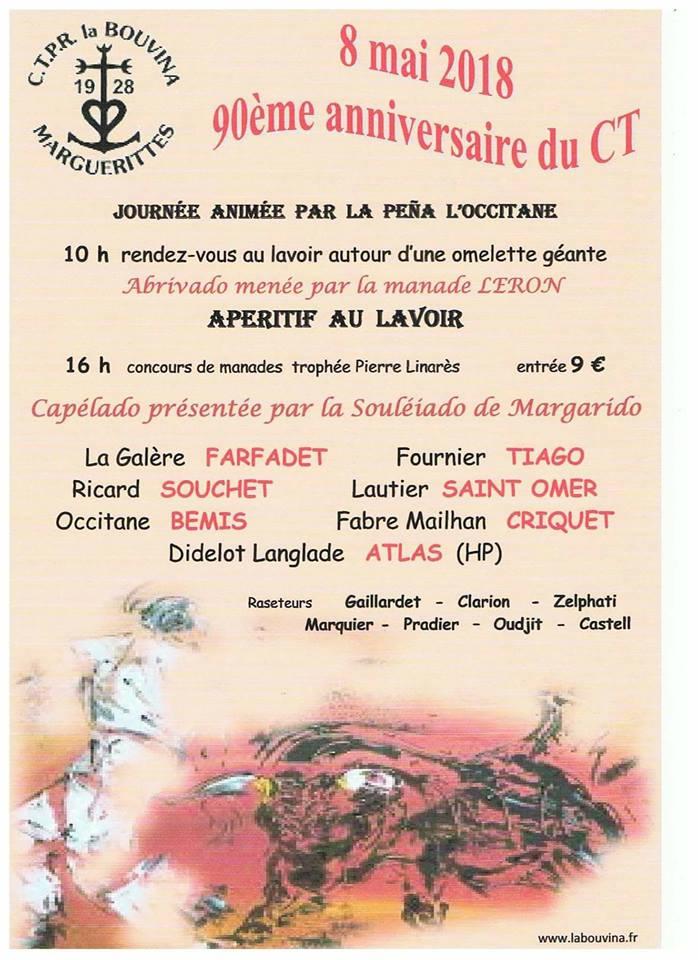 MARGUERITTES - Journée taurine