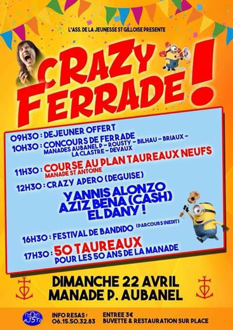 CRAZY FERRADE - Manade Aubanel