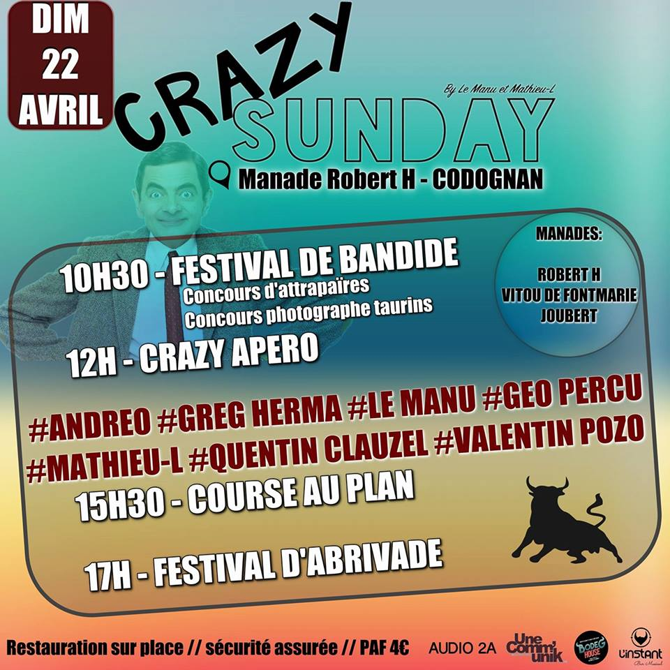 Crazy Sunday  Manade Robert H