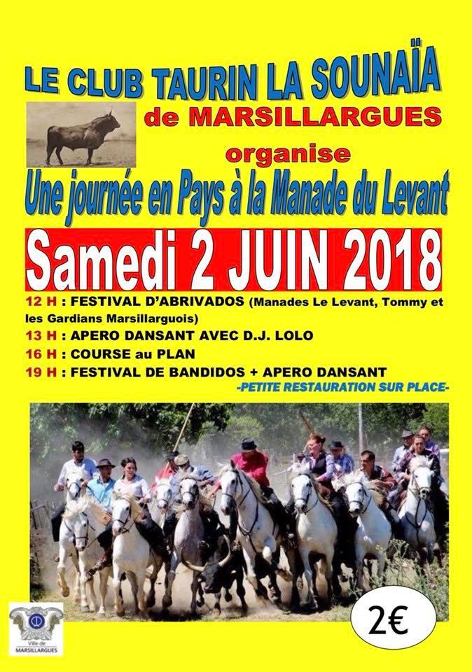 MANADE DU LEVANT - Journée taurine