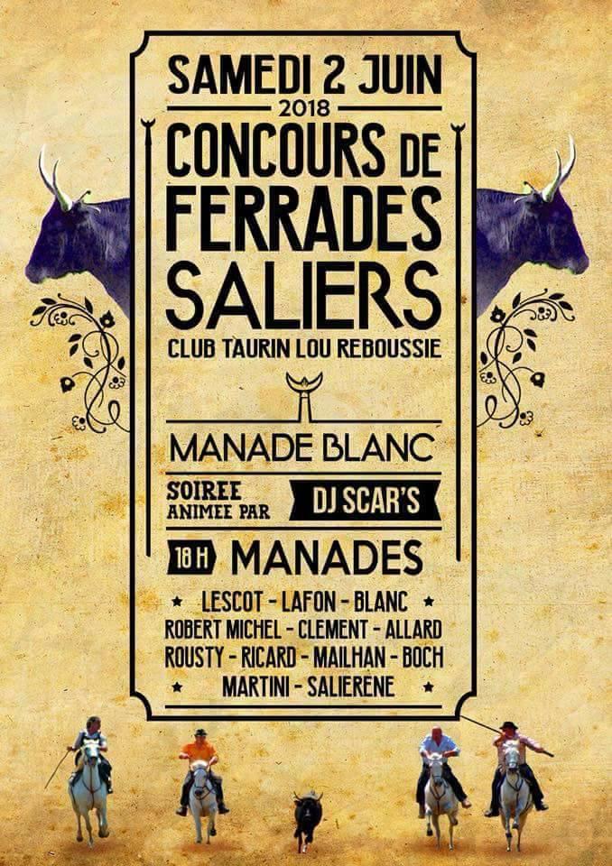 SALIERS - Concours ferrade