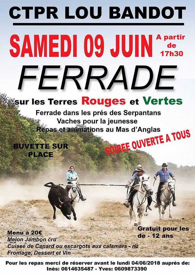 FERRADE Club Taurin Lou Bandot