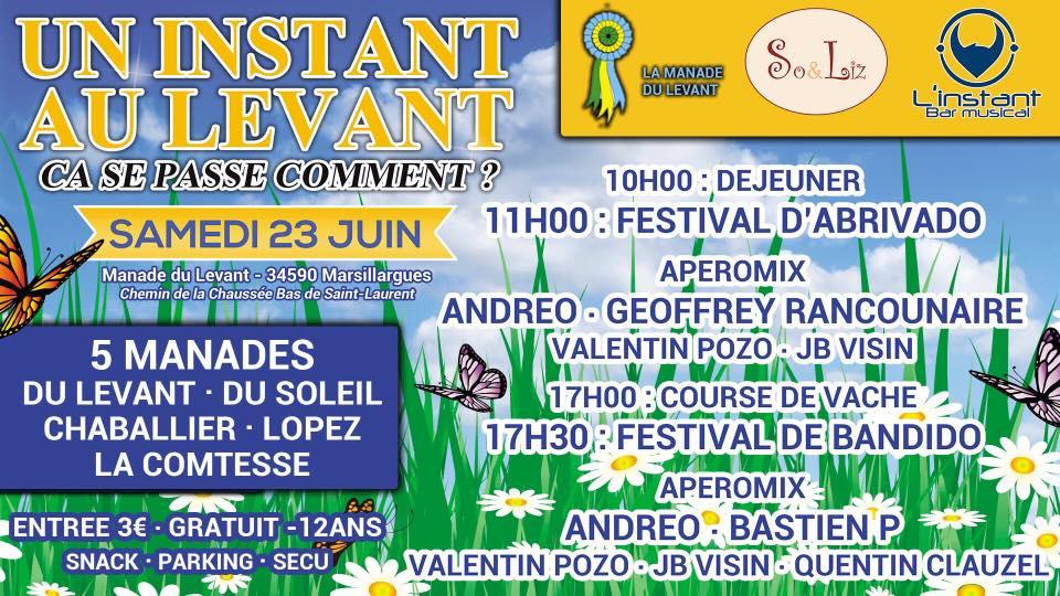 Journée taurine Manade du Levant