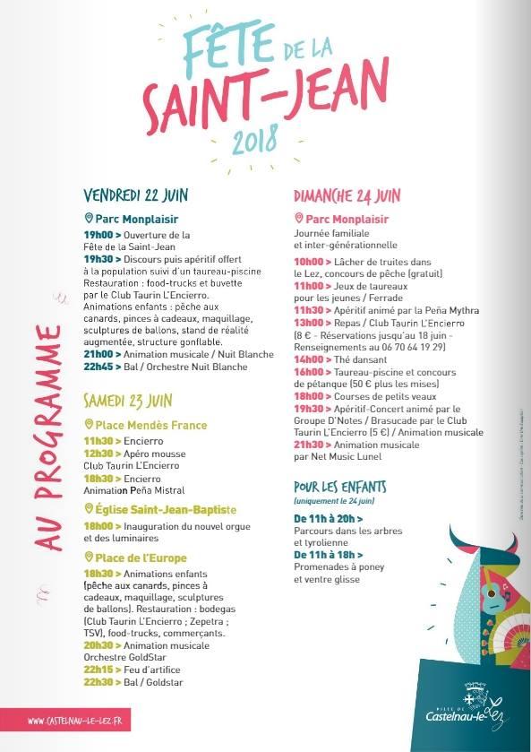 CASTELNAU fête de la St Jean