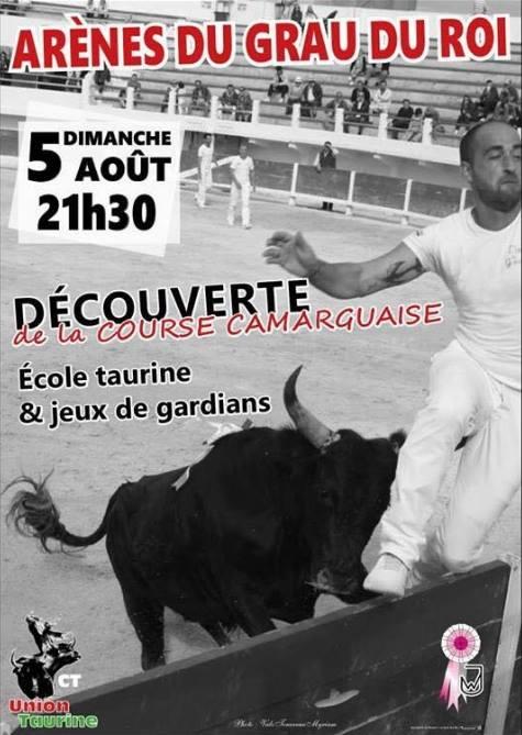GRAU DU ROI - Découverte Course Camarguaise