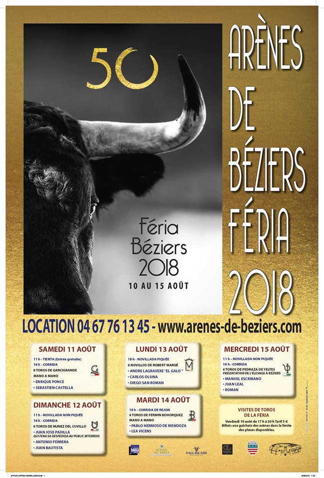 FERIA BEZIERS 2018