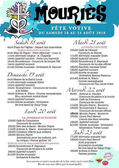 FETE MOURIES 2018