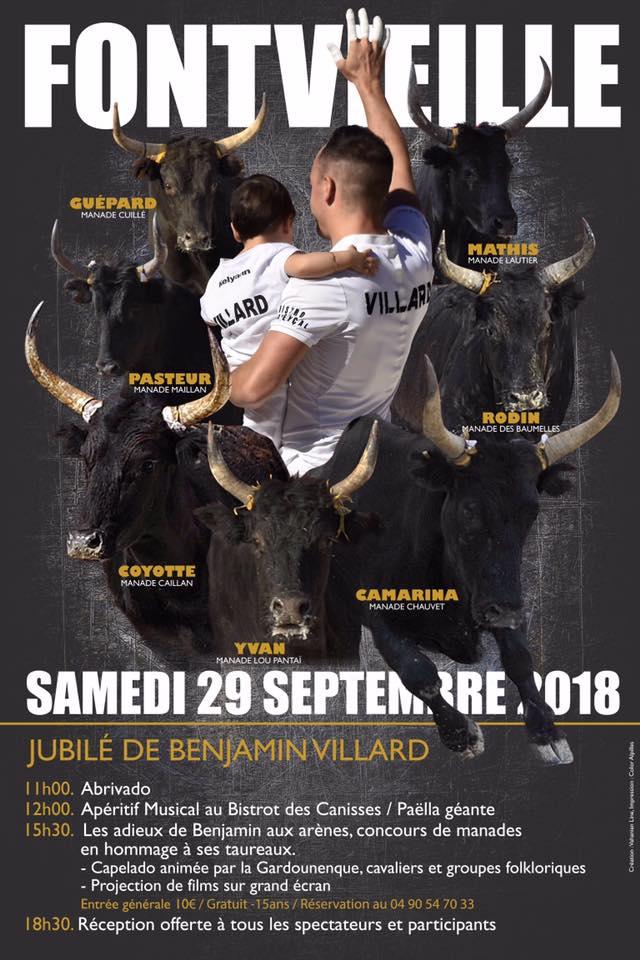 FONTVIEILLE - Jubilé Benjamin Villard