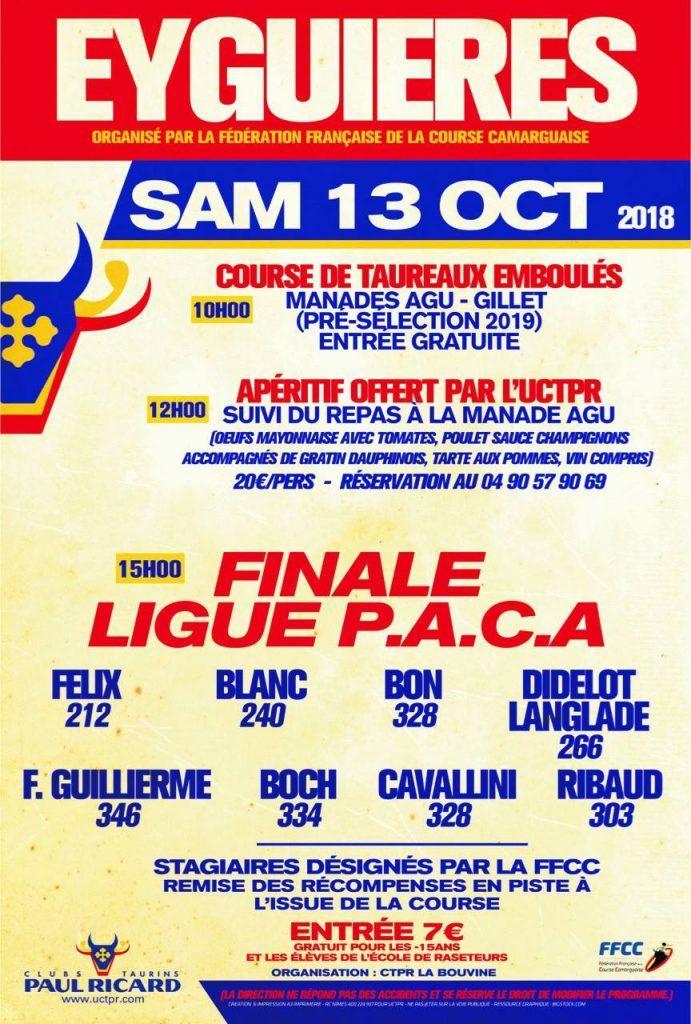 EYGUIERES - Finale Ligue PACA
