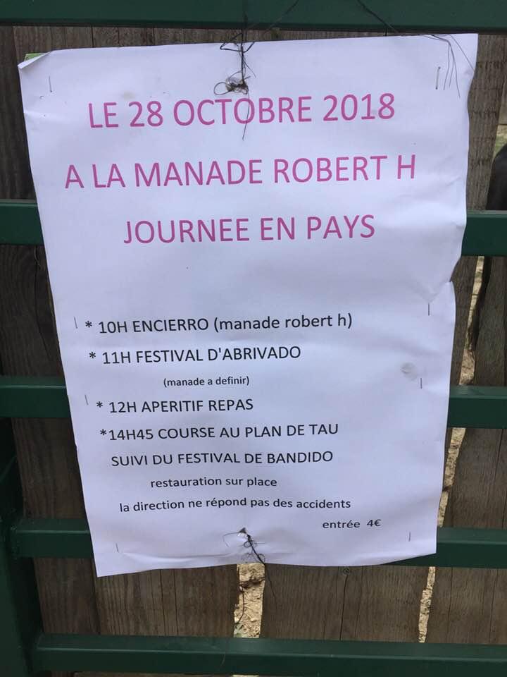 MANADE ROBERT H - Journée en pays