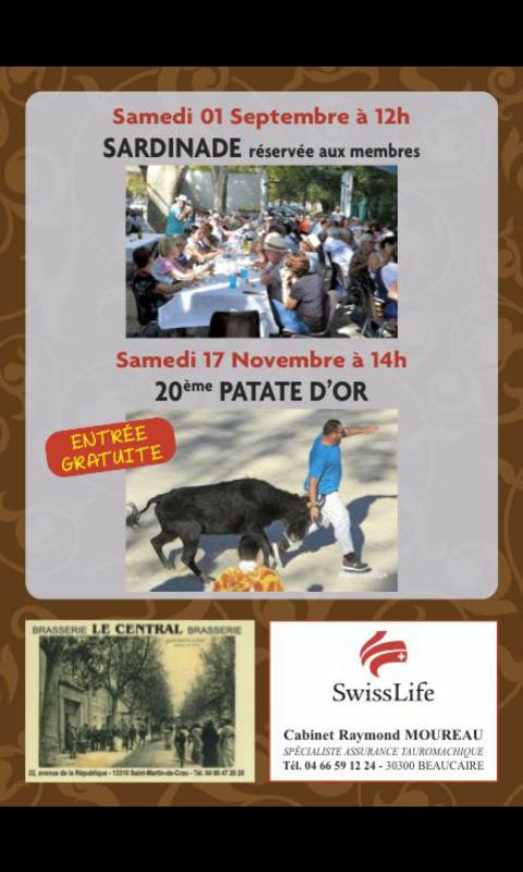 REPORT AU 24/11 ST MARTIN DE CRAU - La patate d'or
