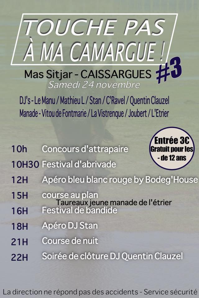 MAS SITJAR - Caissargues - Touche pas à ma Camargue