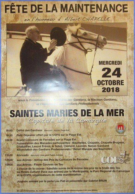 SAINTES MARIES DE LA MER. - Journée de la maintenance