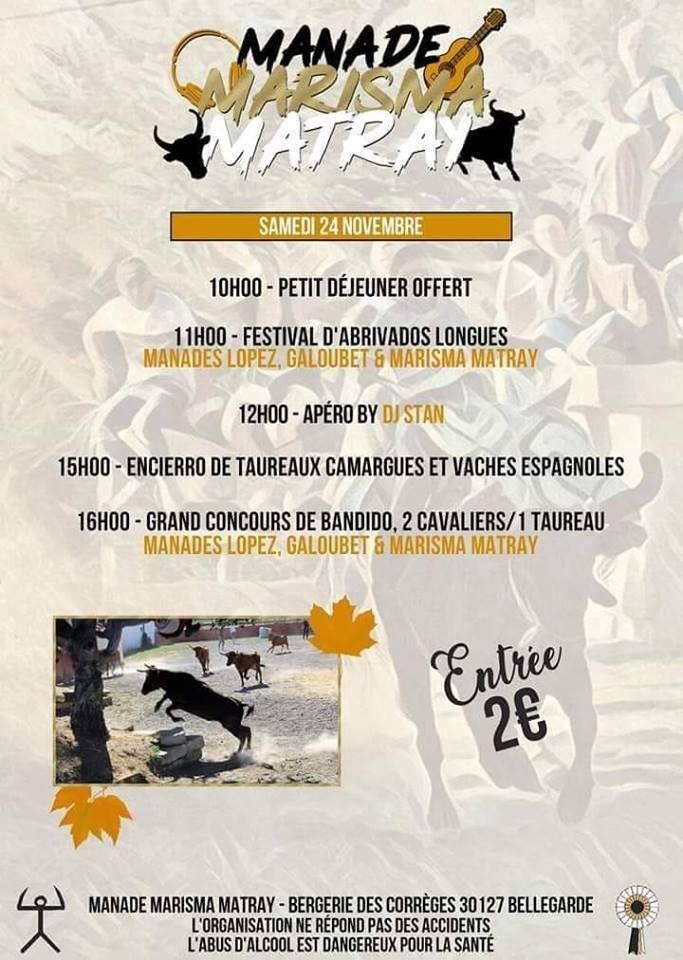 MANADE MATRAY - Journée taurine