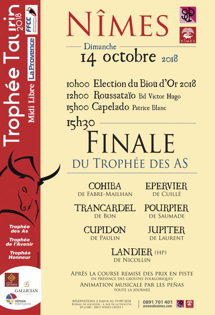 NIMES - FINALE TROPHEE DES AS