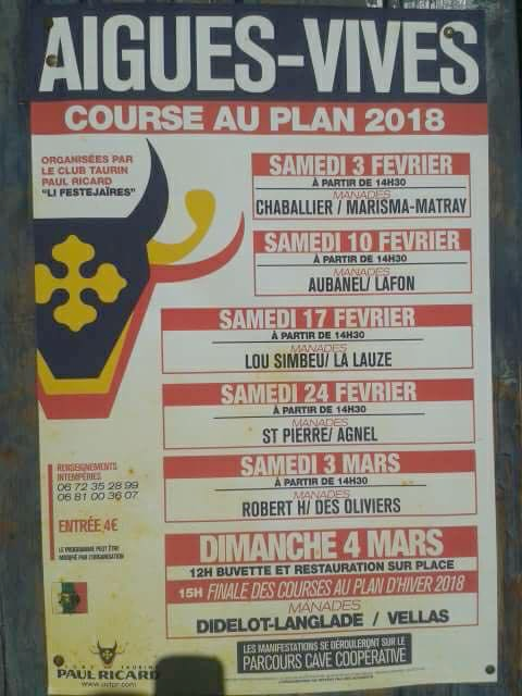 Aigues Vives Course au plan 2018 @ Aigues Vives