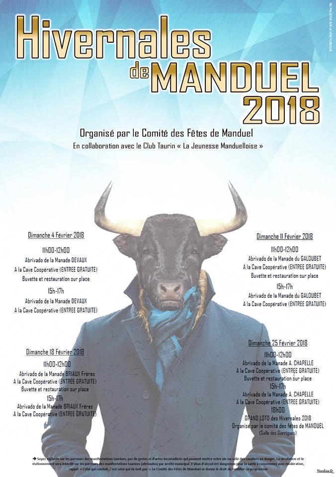 Les Hivernales de Manduel 2018 @ Manduel