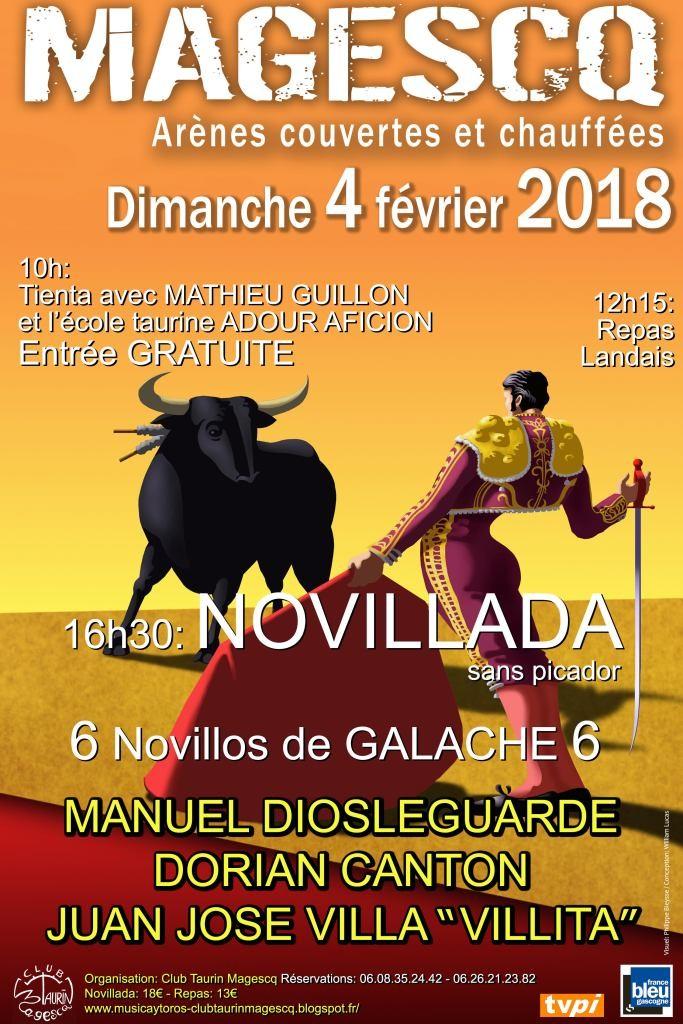 Magescq Journée taurine Novillada @ Magescq