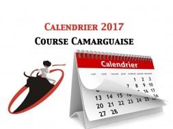 Calendrier Course Camarguaise 2017