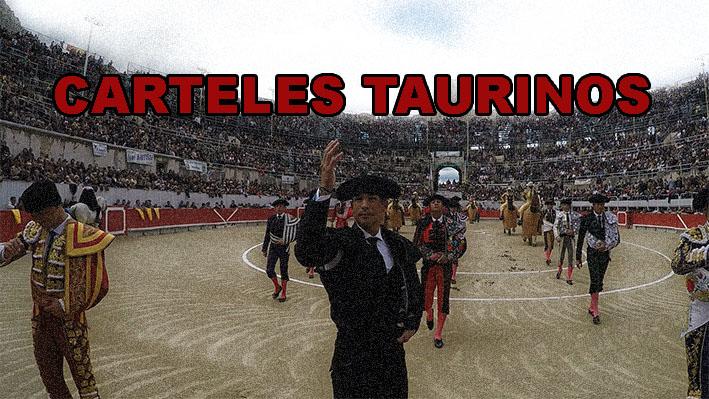 CARTELES TAURINOS de la semaine – 27 mars au 2 avril 2017
