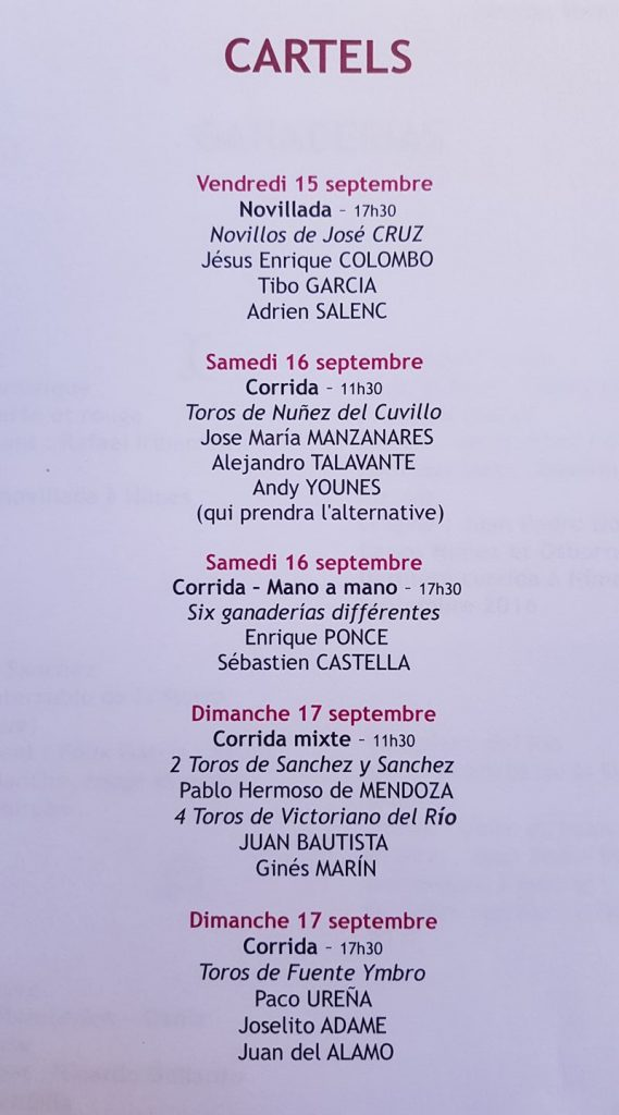 Les Cartels de Nîmes