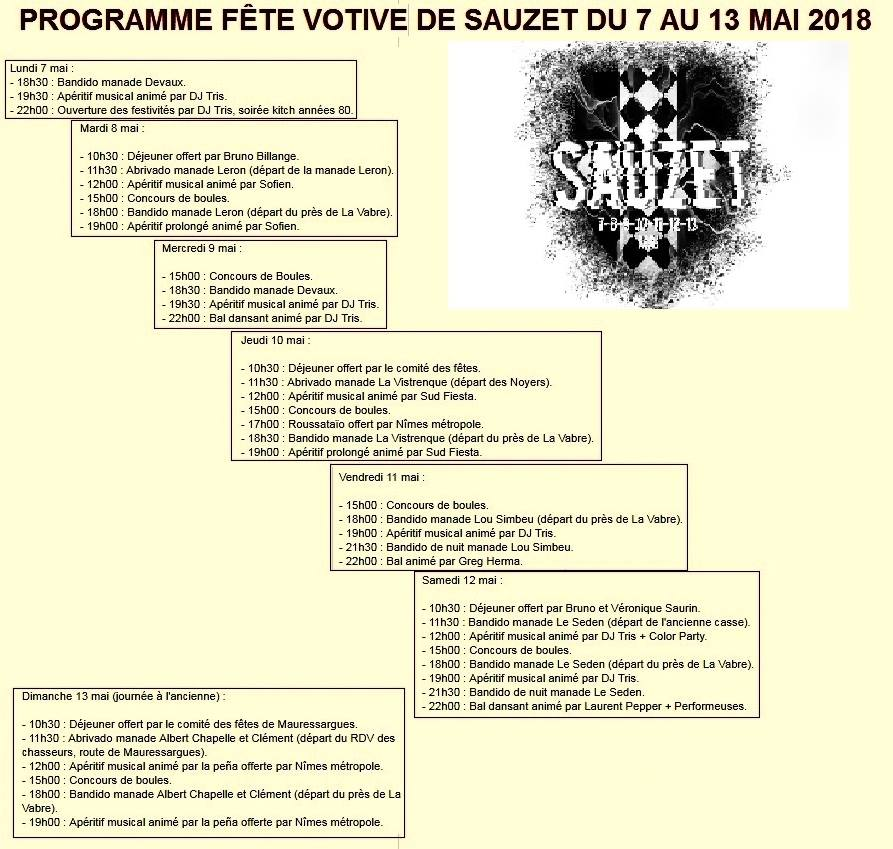 Fête Votive Sauzet – Toril TV