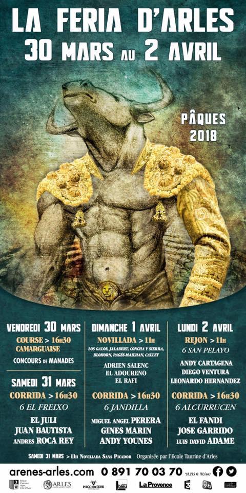 Féria d'Arles Pâques 2018 @ Arles