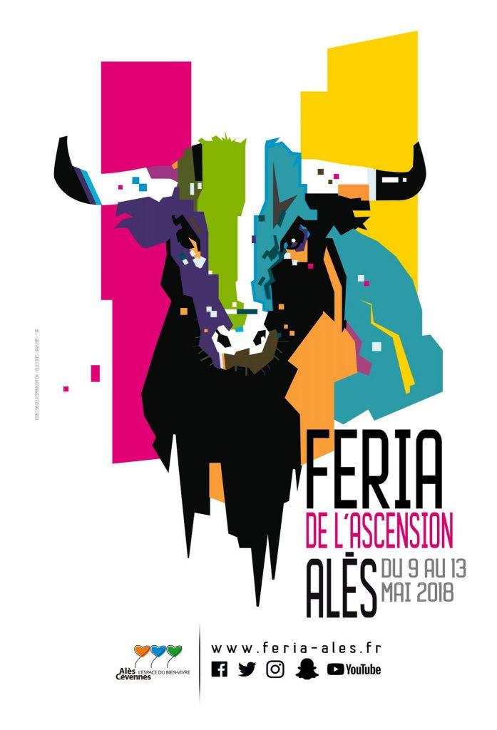 ALES – L'affiche de la Féria 2018
