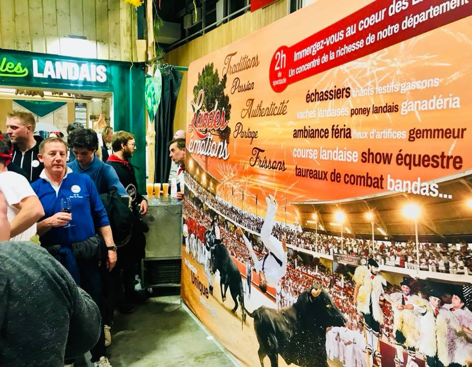 Le salon de l agriculture paris anim par la culture landaise toril tv - Salon agriculture adresse ...