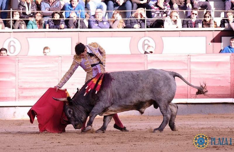 MADRID – Fortes frôle la grande porte (photo Plaza1)