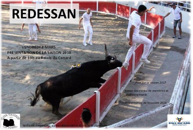 REDESSAN – Le Club Taurin Le Toril présente la temporada 2018