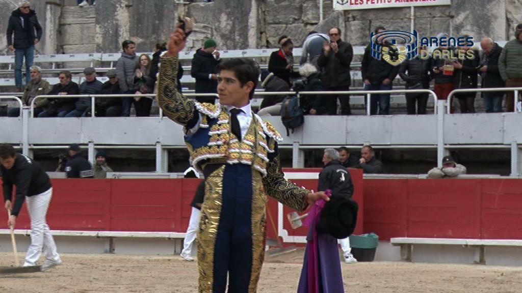 FERIA ARLES PÂQUES 2018 – Corrida de Alcurrucen. Luis David ADAME à hombros et bon toreo de GARRIDO