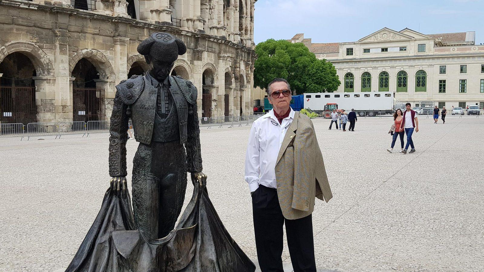 ANGEL TERUEL … Aux bons souvenirs de Nîmes