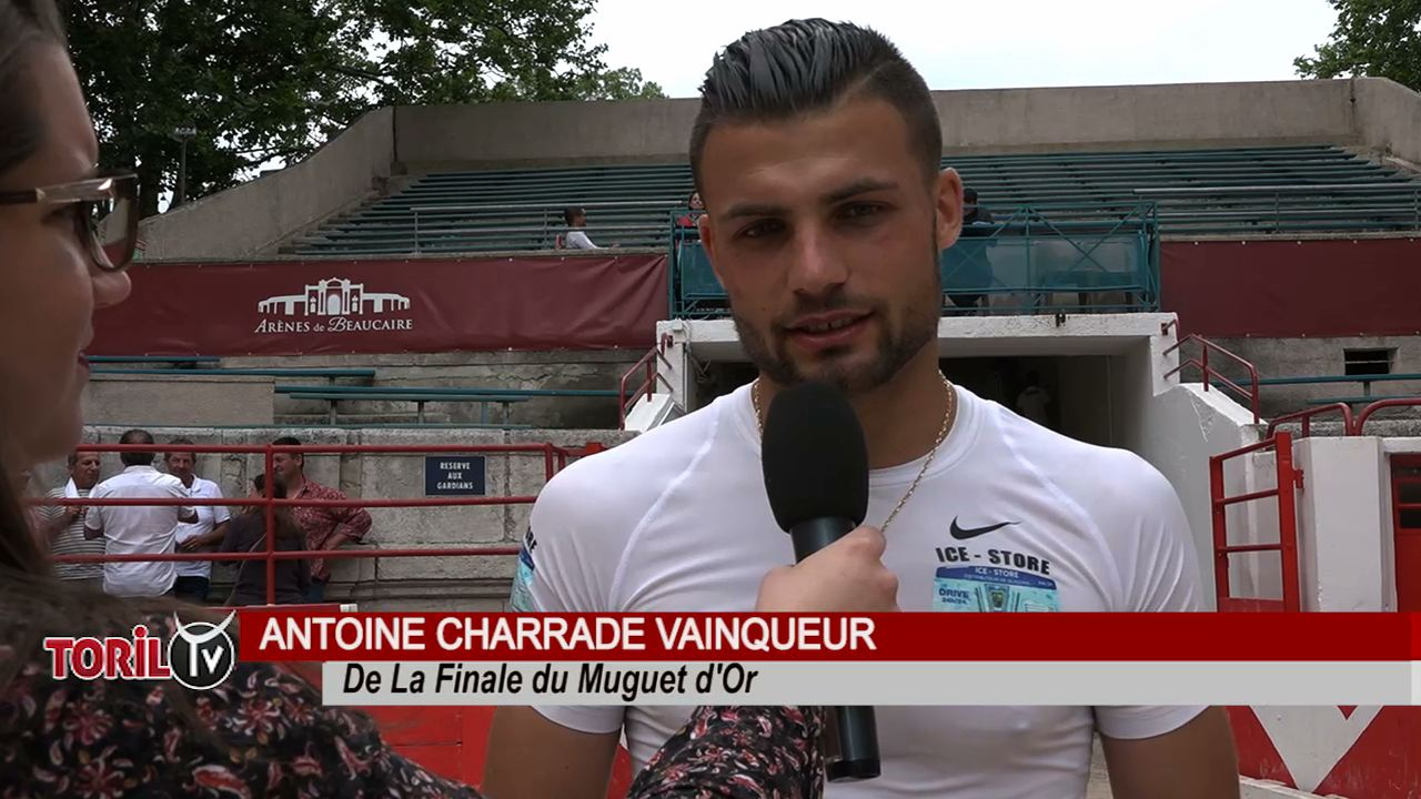 Antoine Charrade, la reprise pour la saison 2022