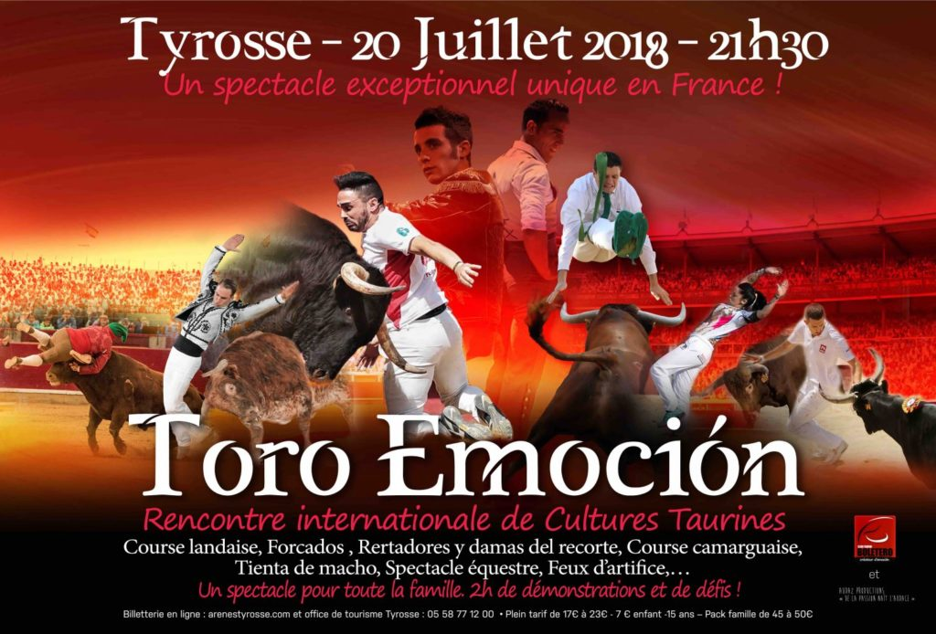 TORO EMOCION Affiche 2018