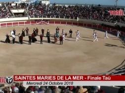 SAINTES MARIES DE LA MER 24 10 2018 finale tau