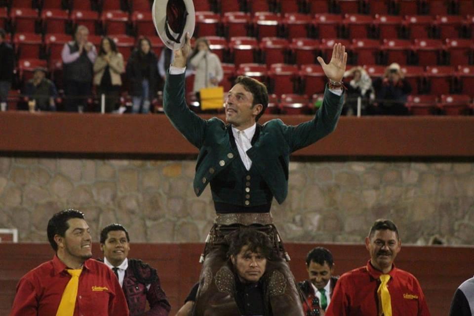 ZACATECAS (18-11) ANDY CARTAGENA à hombros, une oreille pour JOSELITO ADAME (photos NTR)