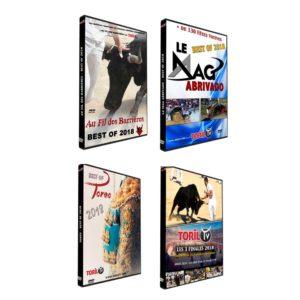 DVD bouvine tauromachie