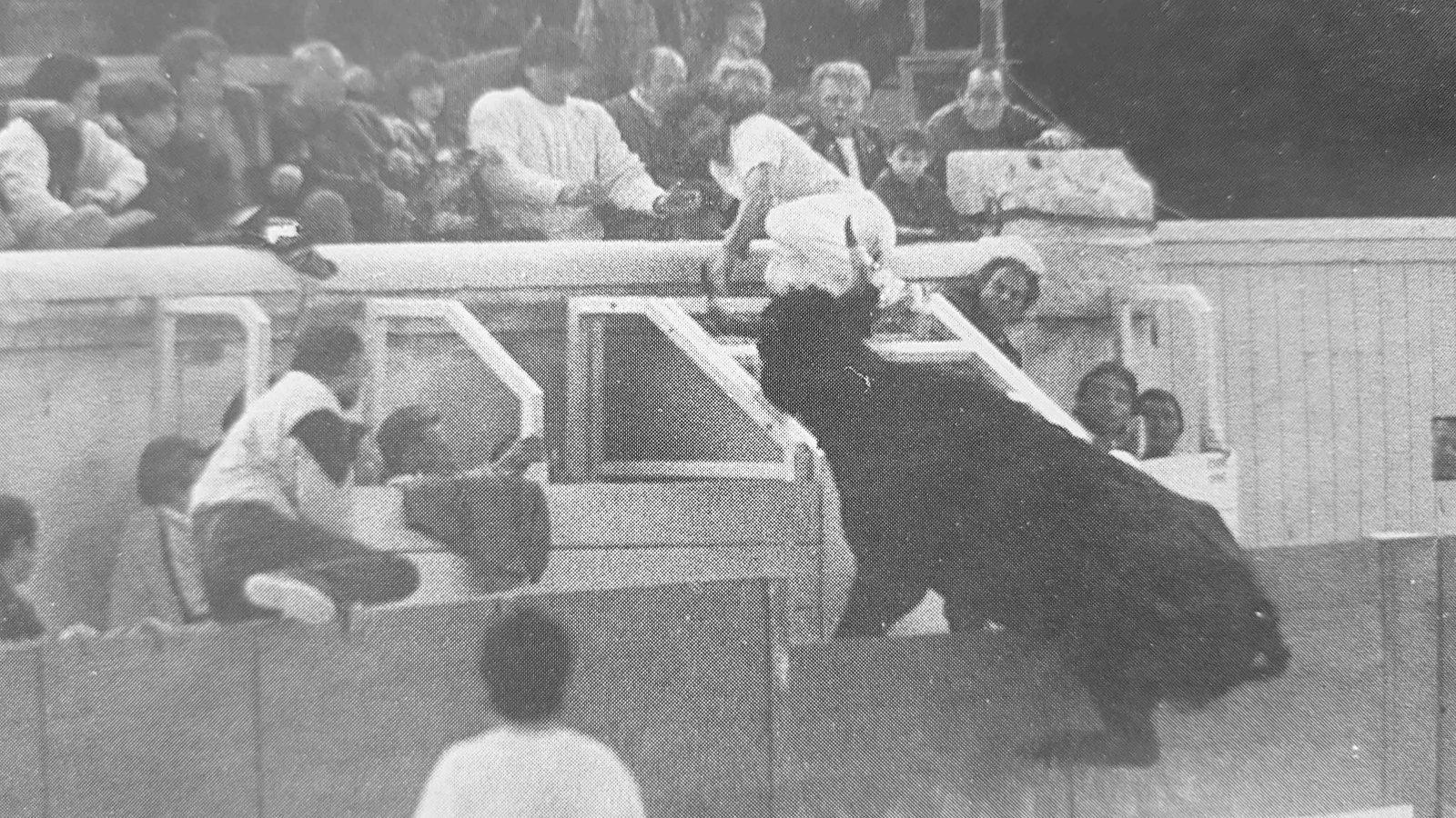 ARCHIVE // FEVRIER SOUS LA BULLE – NÎMES 1992 – Des Cuillé spectaculaires, Frédéric Durand : retour heureux