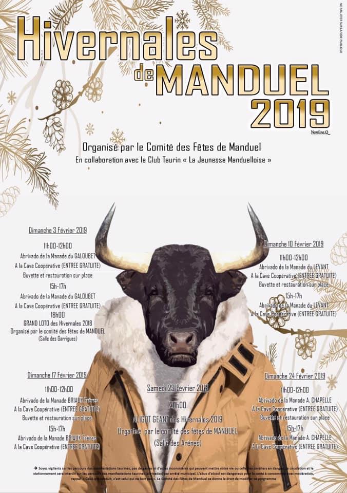 MANDUEL - Les hivernales