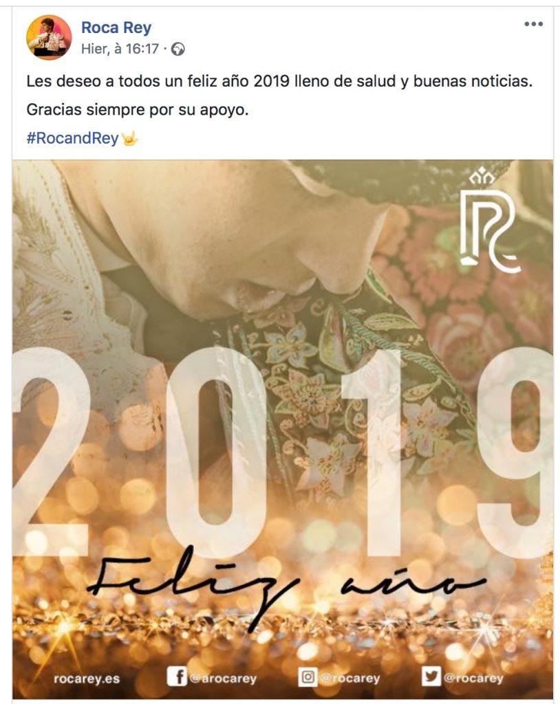 FELIZ AÑO 2019 – La Bonne année sur les réseaux sociaux