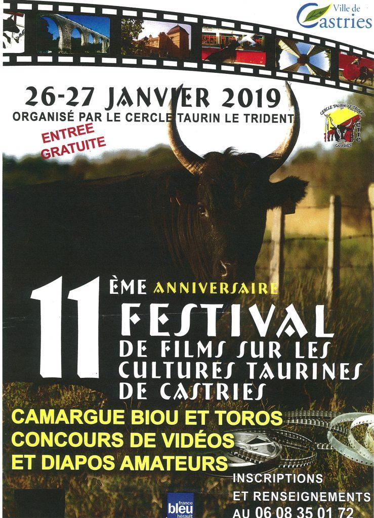 CASTRIES // 11ème édition du Festival de films taurins